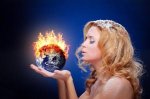 bigstock-Frozen-girl-holding-burning-ea-49993622