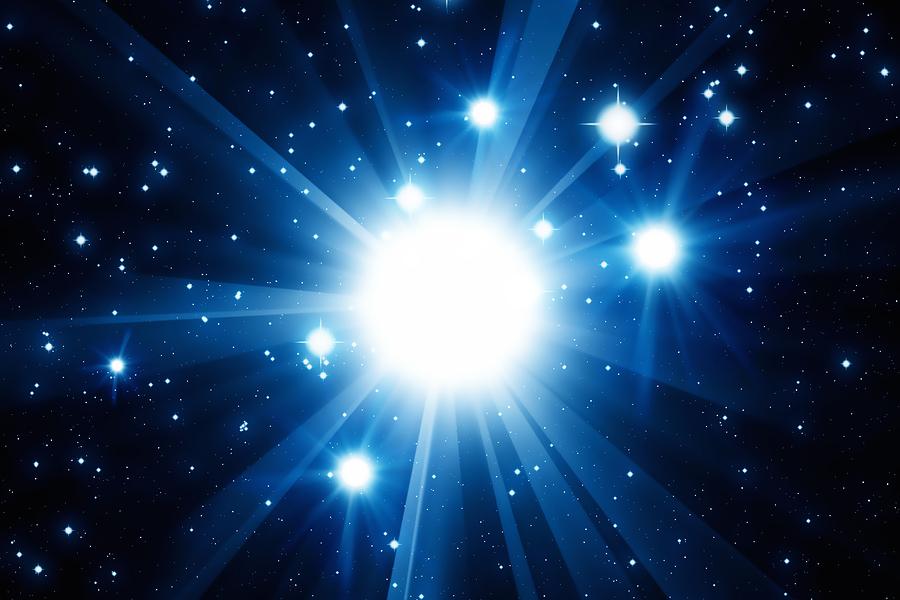 Supernova star burst