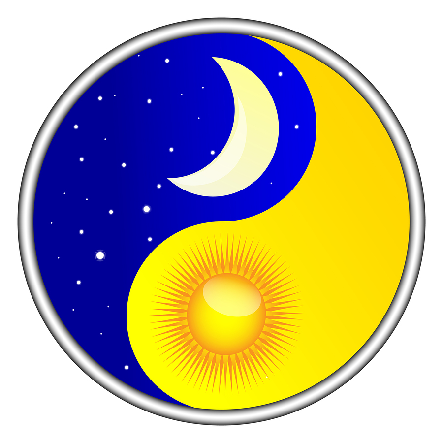 day and night yin yang