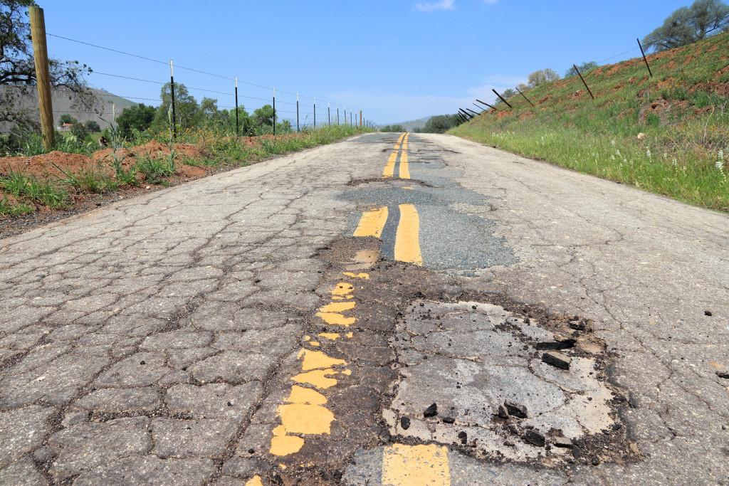 Damaged Roadway