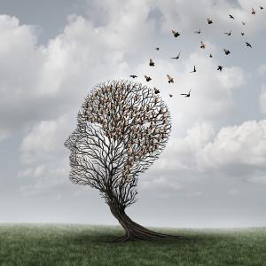 Memory Loss Concept